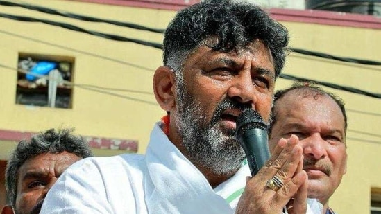 Karnataka Congress chief DK Shivakumar's looks to mobilise support, end growing factionalism and pursue a cadre-based approach ahead of the next elections.(Twitter.com/KPCCPresident)