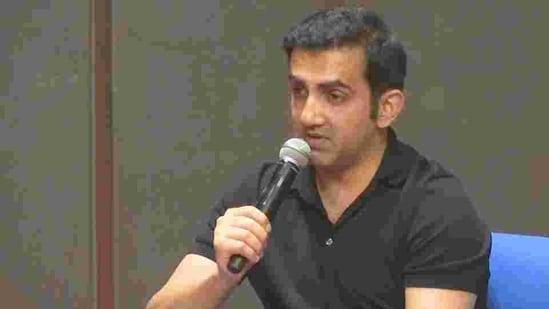 File image of cricketer-turned-politician Gautam Gambhir.