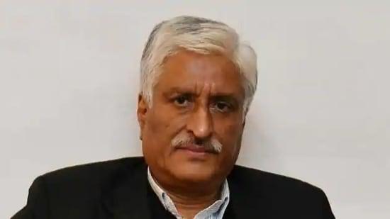 Former Punjab DGP Sumedh Singh Saini.