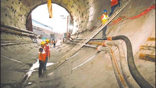 According to BMC, the tunnelling work is expected to be completed by the end of 2022.