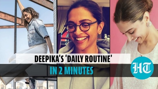 A dip into Deepika Padukone's 'daily routine', actor shares video