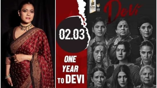 Devi featured an ensemble cast including Kajol, Neha Dhupia, Shruti Haasan among others.