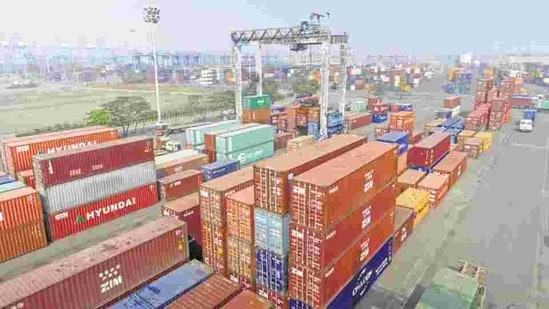Imports during April-February this fiscal also dipped 23 per cent to USD 340.88 billion.(Bloomberg)