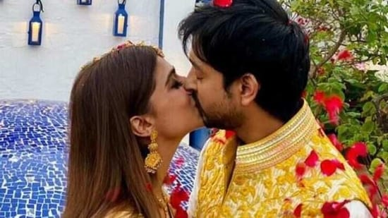 Shaza Morani and Priyaank Sharma had a court marriage in February.