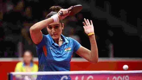 Manika Batra of India(Getty Images)