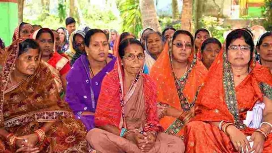 Women SHGs have emerged as a force within Odisha societies.(HT Photo)