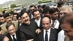 Former PM Yousuf Gilani defeated minister Abdul Hafeez Shaikh.(AP File Photo)
