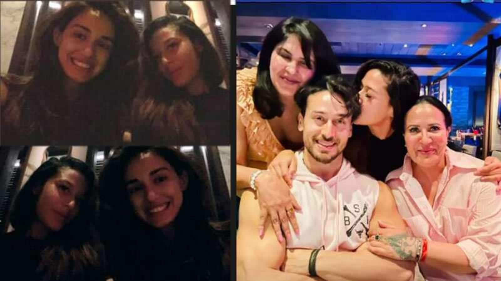 Tiger Shroff birthday dinner: Disha Patani-Krishna Shroff walk hand in hand, mom Ayesha joins them too - Hindustan Times