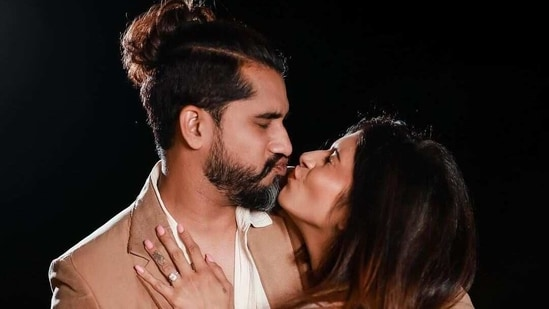 Suyyash Rai and Kishwer Merchant are expecting their first child.