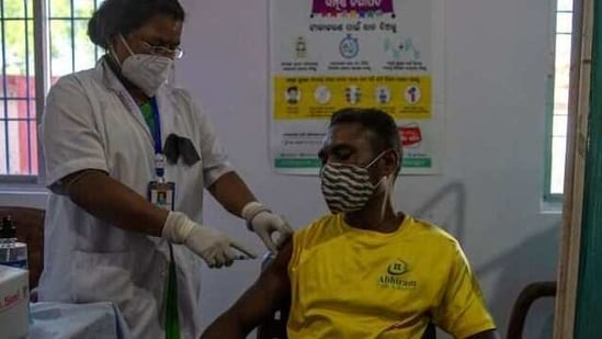 The Union health ministry has been making modifications to the vaccination process since it was opened for the general public on March 1 to suit the needs of the elderly and those with comorbidities.(REUTERS)