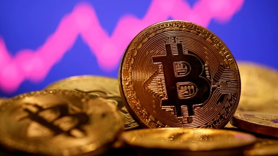 The cryptocurrency has been volatile. Prices plunged 21% last week and have recovered with the broad bounce back in equities.(REUTERS)