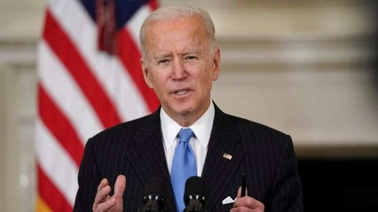 Biden's tough stance has its roots in the competition for global power, but it's also a result of the 2020 presidential election campaign in which Trump and his allies repeatedly sought to portray him as soft on China.(REUTERS)
