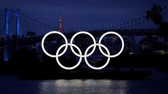FILE PHOTO: The giant Olympic rings are pictured two days before the start of the one-year countdown to the Tokyo Olympics that have been postponed to 2021 due to the coronavirus disease (COVID-19) outbreak, at the waterfront area at Odaiba Marine Park in Tokyo, Japan July 21, 2020. REUTERS/Issei Kato(REUTERS)