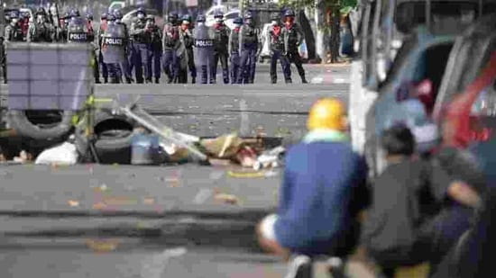 The Monywa Gazette reported five people were killed in that central town in police firing. One person was shot and killed in the central town of Myingyan, said student activist Moe Myint Hein, 25. (Representative Image) (Reuters)