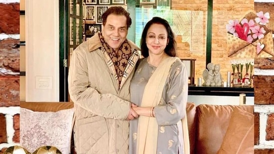 Dharmendra and Hema Malini have been married for more than four decades.