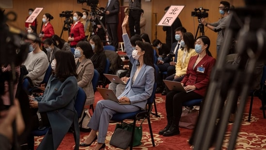 The Foreign Correspondents' Club of China (FCCC) said in a report that one out of six correspondents reported being forced to live and work in China on a series of short visas of between one and three months.(AFP)