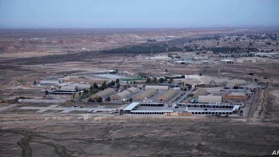 File photo of Ain al-Asad air base(AP)