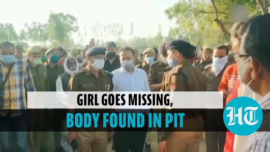 The body of a 12-year-old girl was found buried in a pit in Uttar Pradesh's Bulandshahr