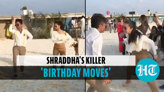 Shraddha Kapoor's quirky 'birthday moves' with brother on Maldives beach