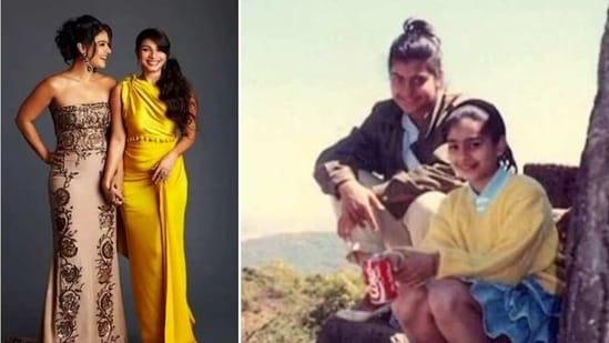 Kajol and Tanishaa Mukerji are daughters of veteran actor Tanuja.