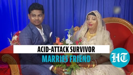 Odisha acid-attack survivor Parmodini ties the knot with long-time friend