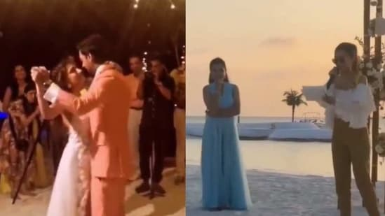 Shraddha Kapoor at Priyaank Sharma and Shaza Morani's wedding.