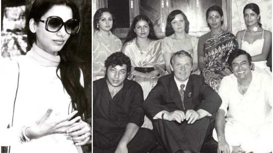 Shabana Azmi often shares throwback pictures from the 1970s and 1980s.