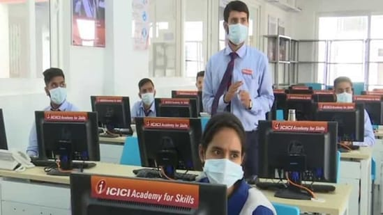 The Jammu and Kashmir administration has started the 'Smart City Skill development project', to impart skill training to 250 trainees every year.(ANI)