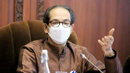 Chief minister Uddhav Thackeray spoke about the Motera stadium while replying to a discussion on the Governor's address in the state assembly.(HT_PRINT)