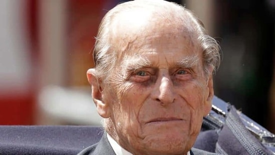 Britain's Prince Philip sits in a carriage in London.(AP file photo)