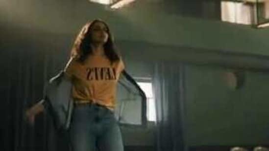 Deepika Padukone in a still from the advertisement.