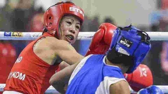 MC Mary Kom: File photo(PTI)