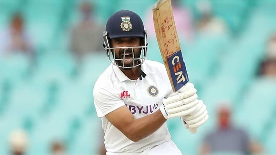 Ajinkya Rahane defended the Ahmedabad pitch. (Getty Images)
