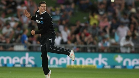 Mitchell Santner has been ruled out of the third T20I. (Getty Images)