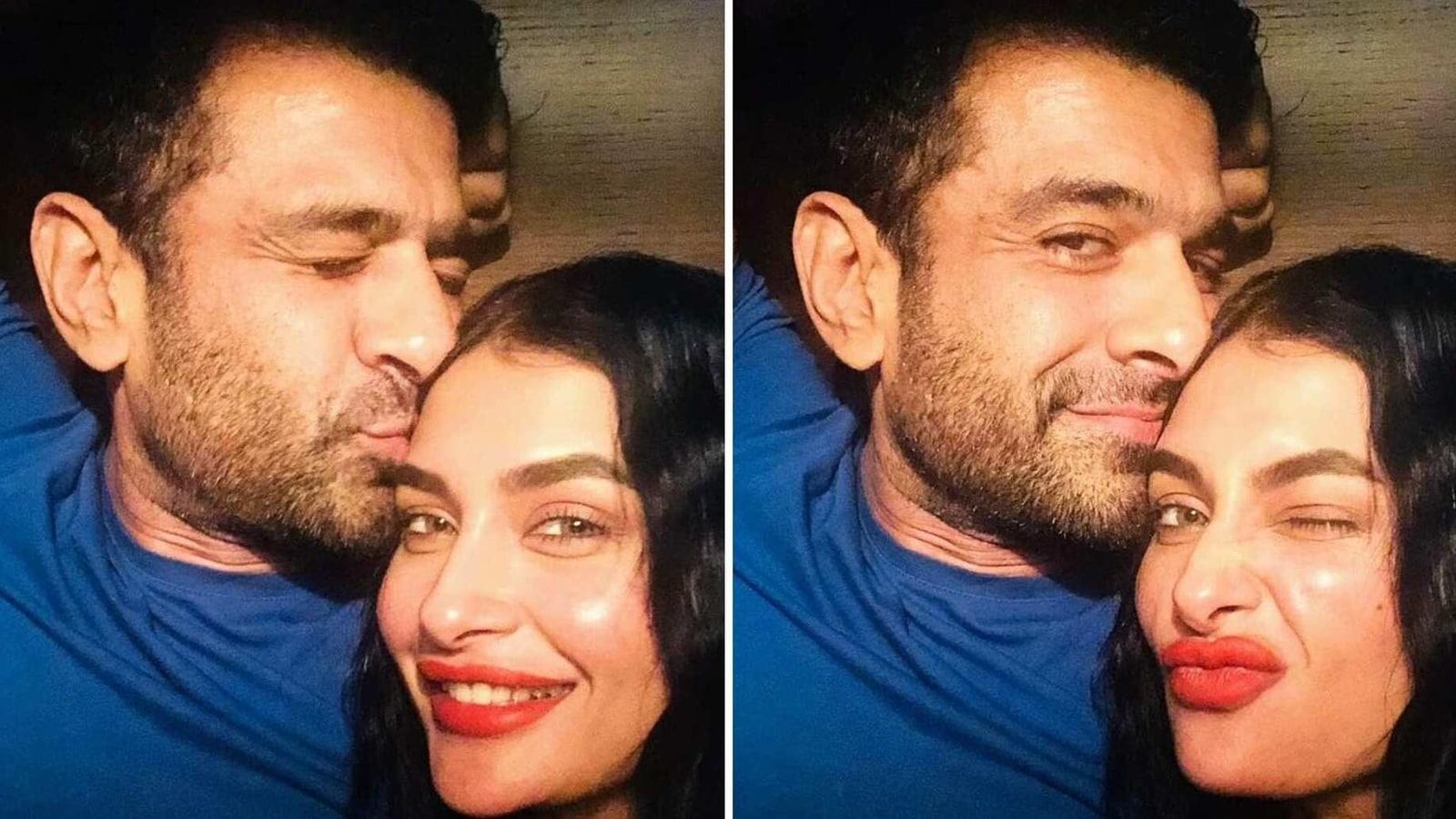Eijaz Khan shares cute photos, video with Pavitra Punia as she hits 1 million Instagram followers: 'I love u 1 million' - Hindustan Times