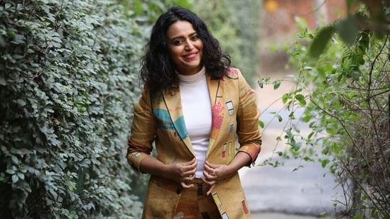 Swara Bhasker slammed a man who made an unsavoury comment about her being featured on the cover of a magazine.