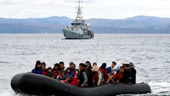 The report is by a special working group set up to investigate media allegations that staff, ships or aircraft working with Frontex took part in or were near more than a dozen pushback incidents at the border between Greece and Turkey last year, mostly in the Aegean Sea.(AP)