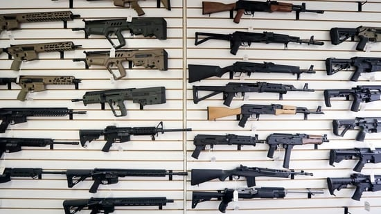 While Biden has called for a ban on assault weapons, any new gun legislation will likely face an uphill climb given the political polarization that has tripped up past administrations.(AP)