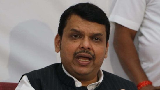 Leader of opposition and former chief minister Devendra Fadnavis(HT file)