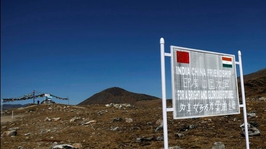 A view of the Indo-China border in Arunachal Pradesh. (REUTERS)