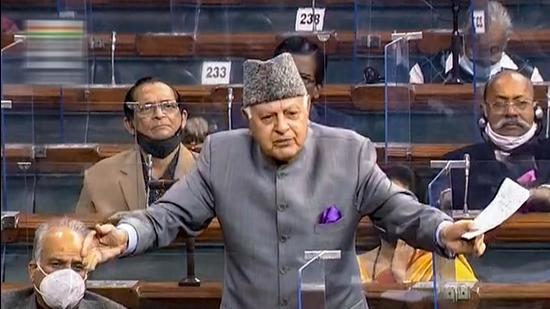 Rejecting a petition that sought action against former Jammu and Kashmir (J&K) chief minister and one of the country's senior-most leaders, Farooq Abdullah, for his comments opposing the Centre's changes in the erstwhile state, a two-judge Supreme Court (SC) bench on Wednesday said that dissent cannot be considered sedition (PTI)