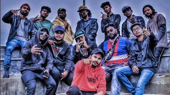 Hyderabad-based hip-hop multilingual rap crew Nawab Gang was founded in 2018