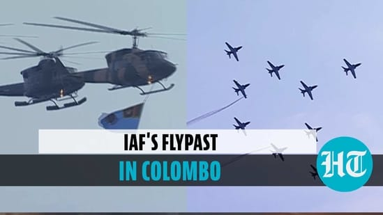 IAF participates in Sri Lanka Air Force's 70th anniversary celebrations