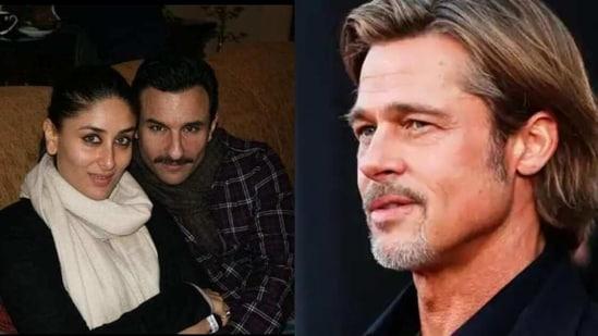Brad Pitt had wished Kareena Kapoor and Saif Ali Khan for their wedding.
