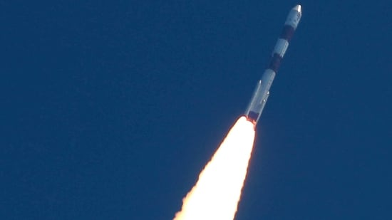 On February 28, ISRO successfully launched the 637-kg Brazilian satellite Amazonia-1 on board PSLV-C51 rocket from Sriharikota spaceport.(PTI Photo)