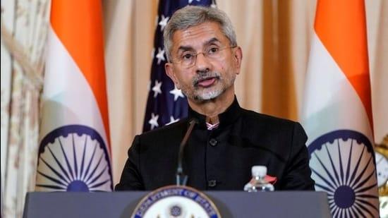 Indian Minister of External Affairs S Jaishankar. (REUTERS)
