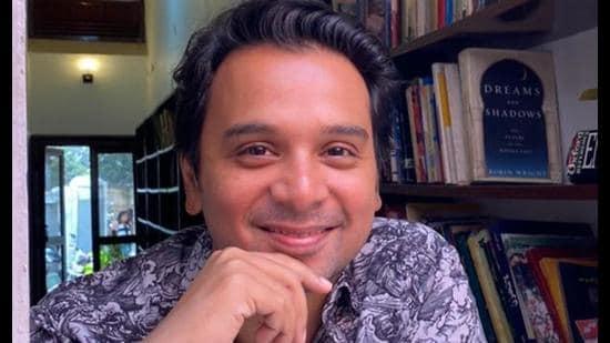 Actor Namit Das in Lucknow (Sourced photo)
