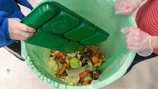 A UN report released on Thursday, March 4, 2021 estimates 17% of the food produced globally each year is wasted.(AP)