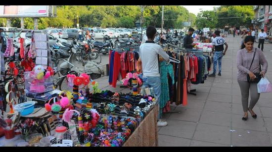 In January last year, MC had decided to implement the Act first in Phase 7, where as many as 139 vendors are registered. (HT File Photo)