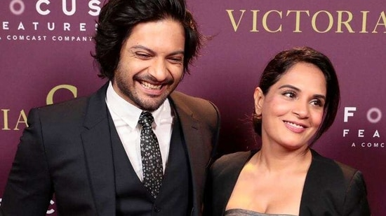 Richa Chadha and Ali Fazal announced their first joint production venture.